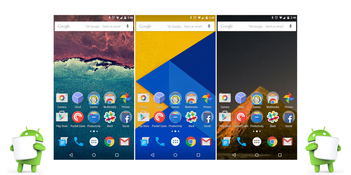 Android 6.0 Marshmallow versus Android 5.1 Lollipop 1