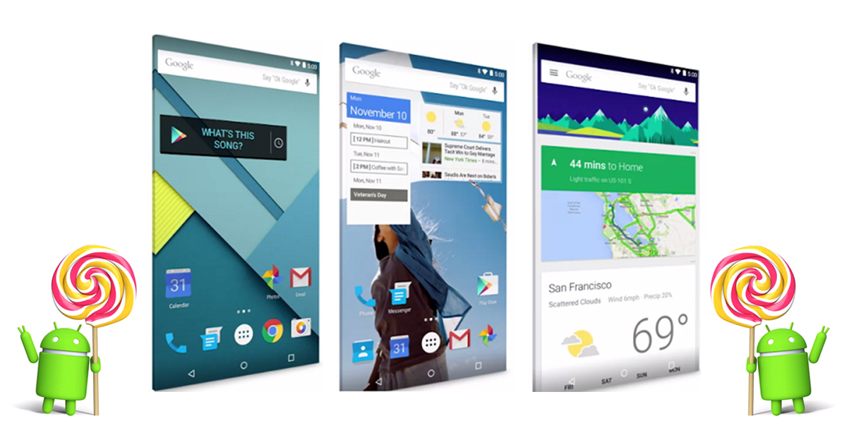 Android 6.0 Marshmallow versus Android 5.1 Lollipop 2