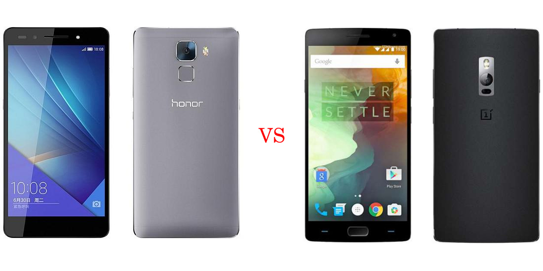 Huawei Honor 7 versus OnePlus Two 1