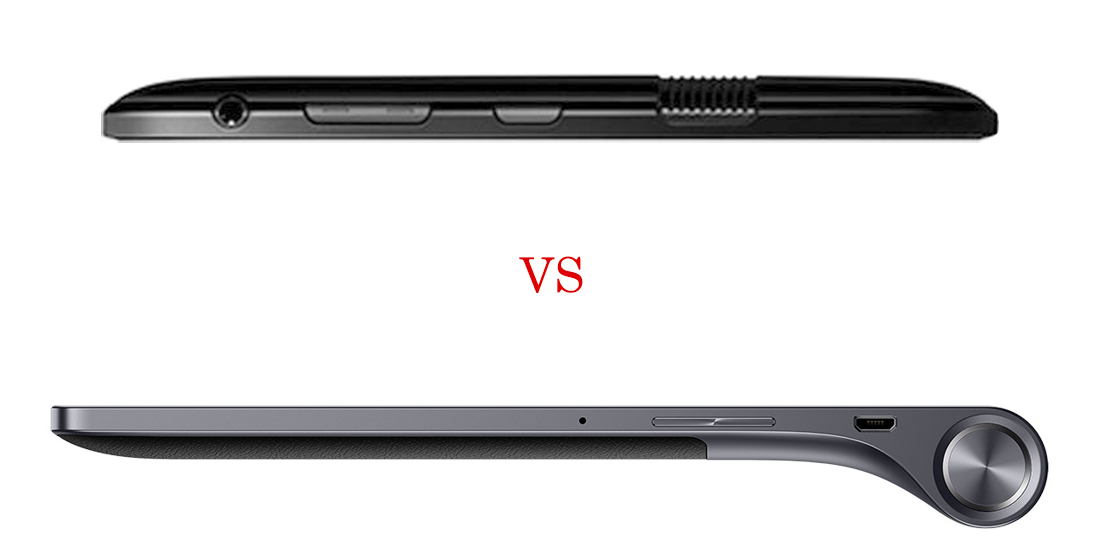 Lenovo Yoga Tab 3 versus Amazon Fire HD 8 5