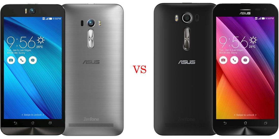 Asus ZenFone Selfie versus Asus ZenFone 2 Laser 1