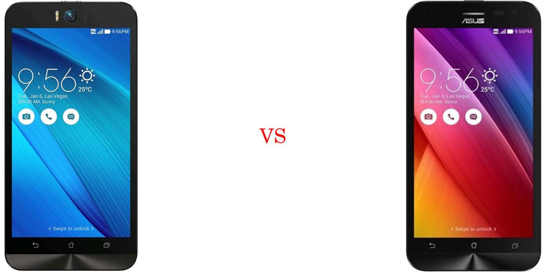 Asus ZenFone Selfie versus Asus ZenFone 2 Laser 2