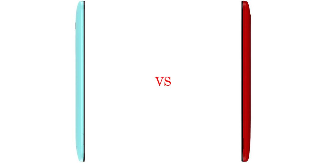 Asus ZenFone Selfie versus Asus ZenFone 2 Laser 4