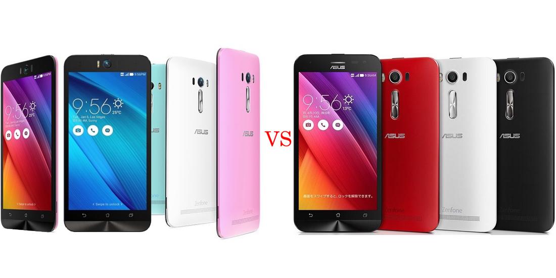 Asus ZenFone Selfie versus Asus ZenFone 2 Laser 5