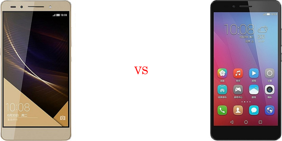 Huawei Honor 7 versus Huawei Honor 5X 2