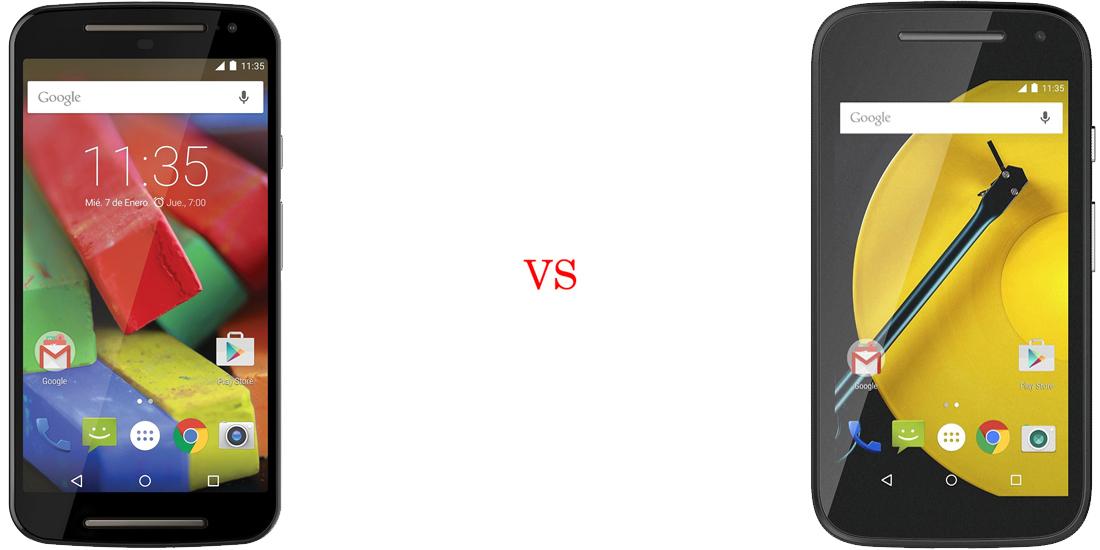 Motorola Moto G 2014 versus Motorola Moto E 2015 2
