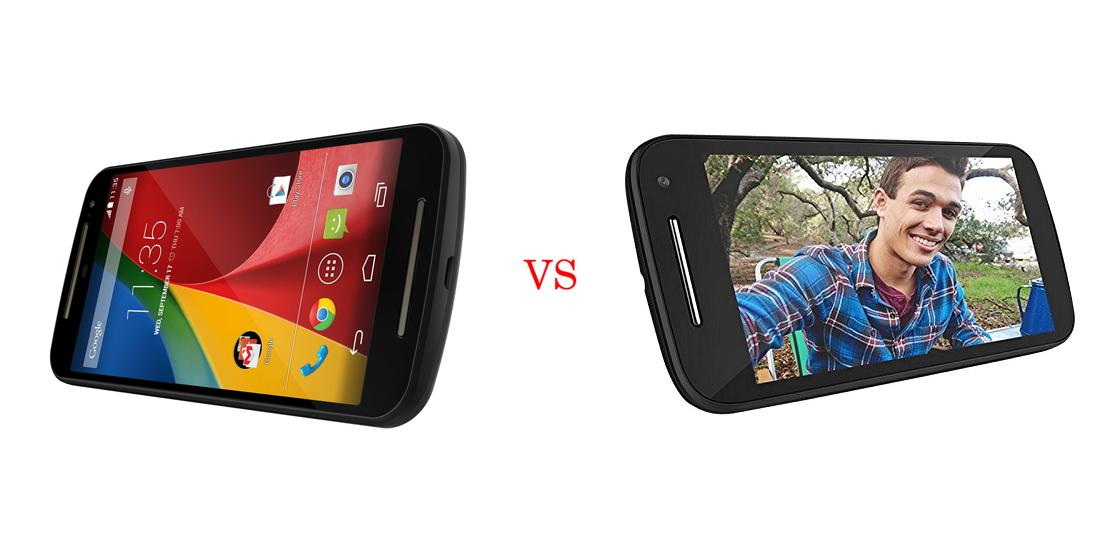 Motorola Moto G 2 versus Motorola Moto E 2 5