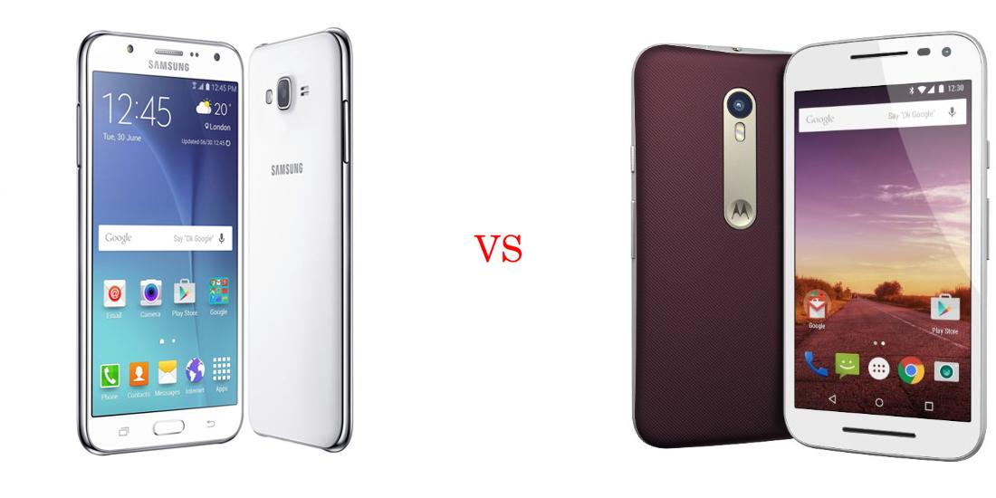 Samsung Galaxy J7 versus Motorola Moto G (Turbo Edition) 5