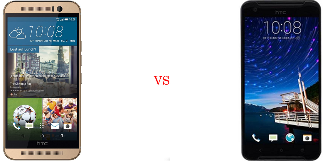 HTC One M9 versus HTC One X9 2