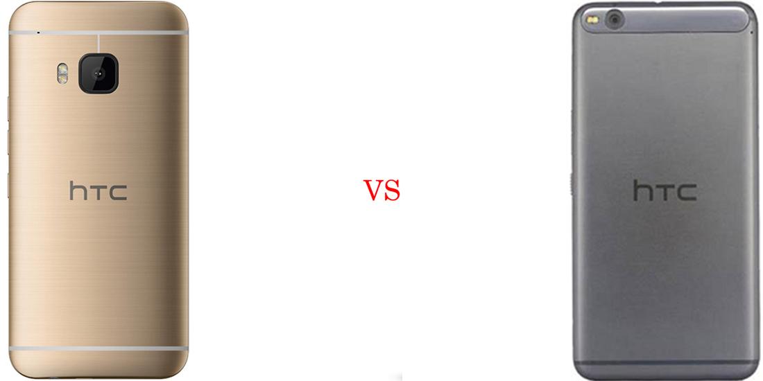 HTC One M9 versus HTC One X9 3