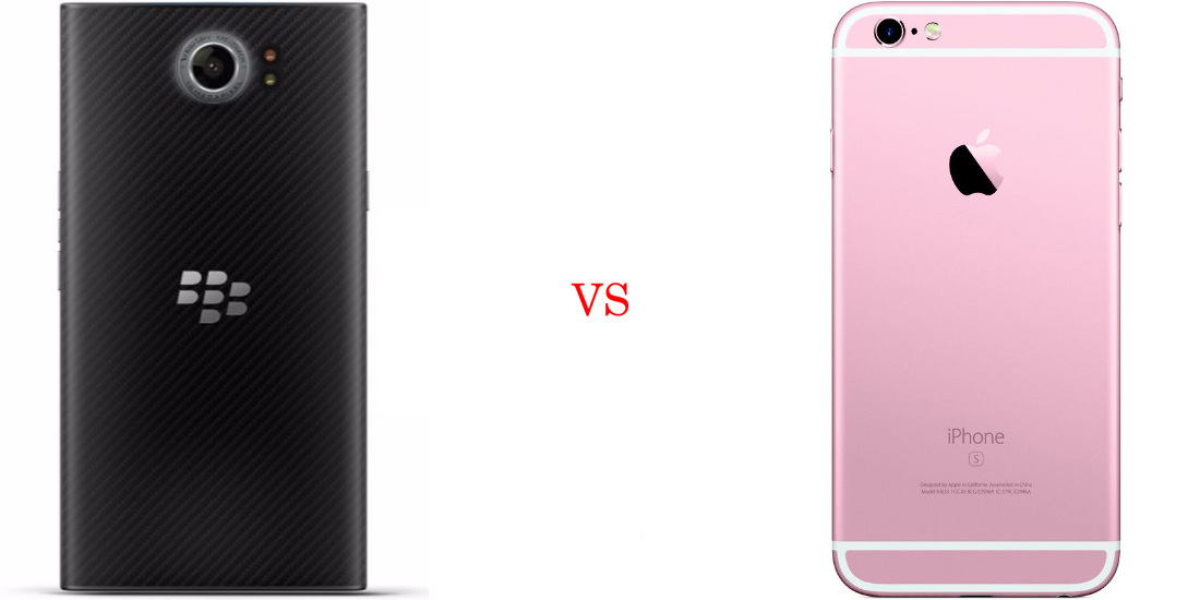 BlackBerry Priv versus iPhone 6S 3
