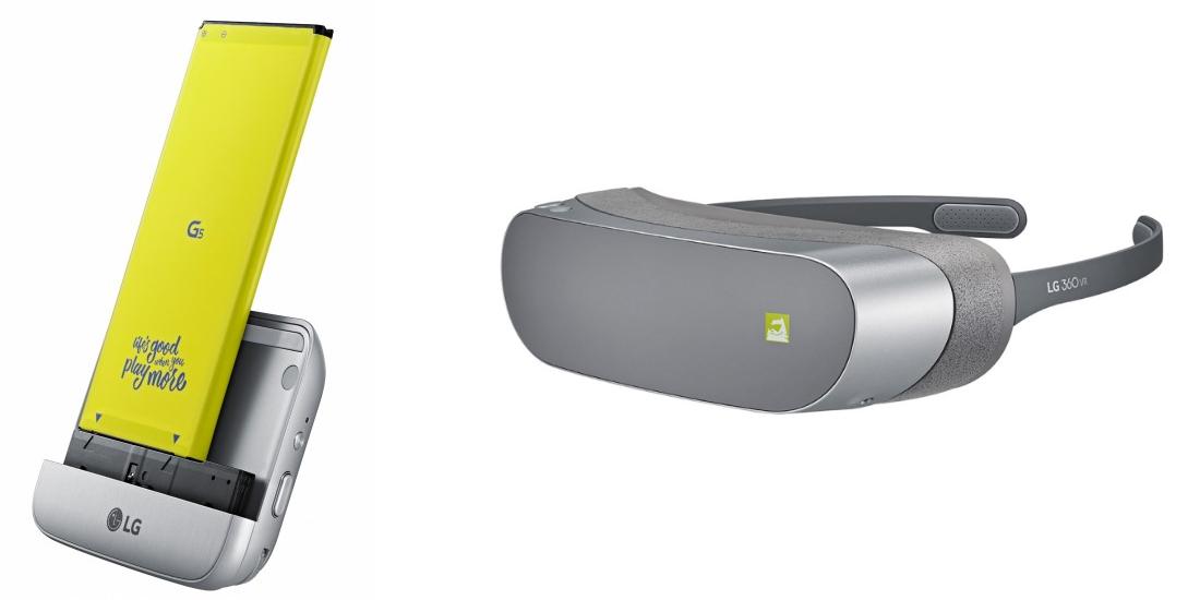 El futuro presentado en el MWC 2016 de Barcelona realidad virtual, smartphone modular y 5G 2