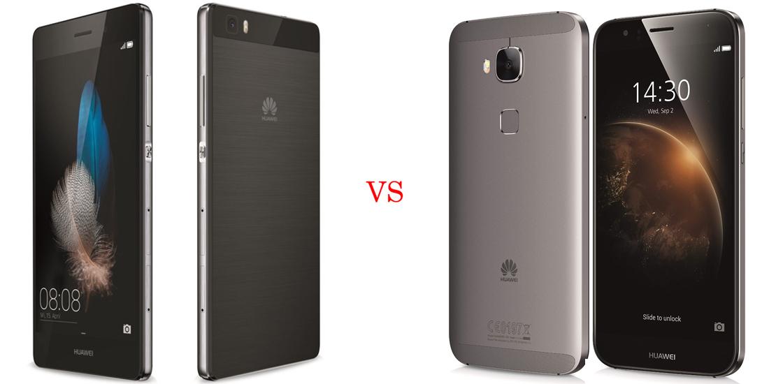 Huawei P8 versus Huawei GX8 1