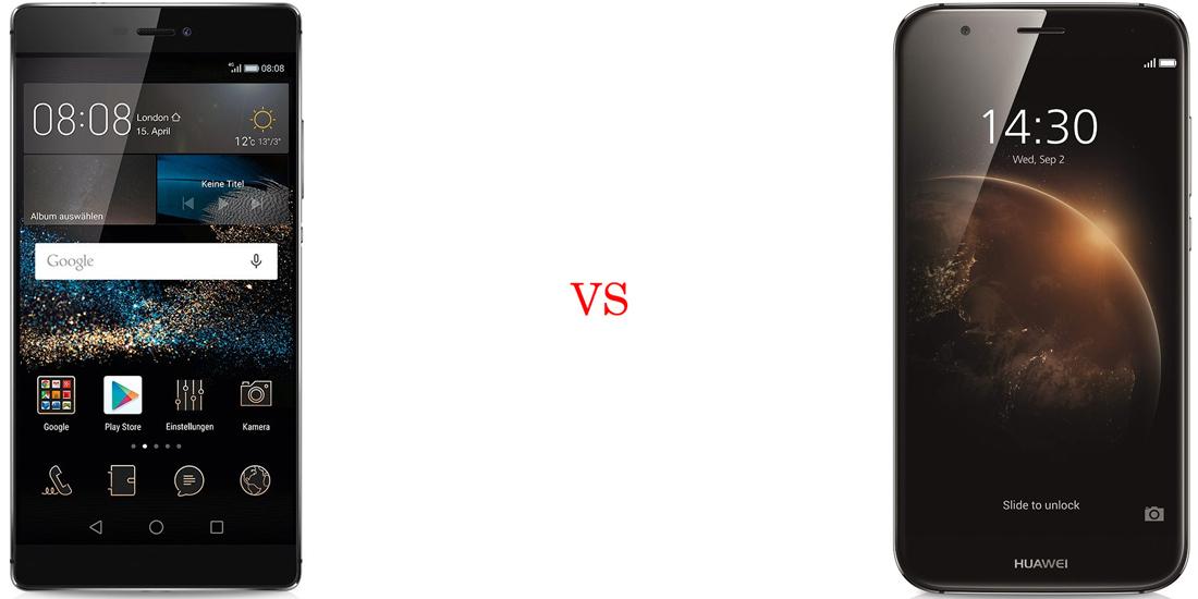 Huawei P8 versus Huawei GX8 2