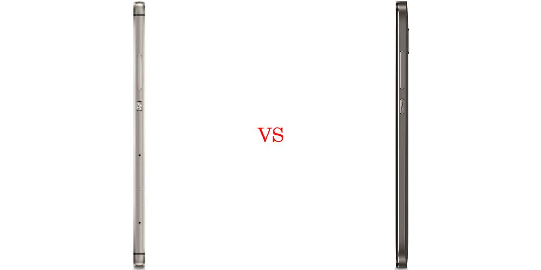 Huawei P8 versus Huawei GX8 4