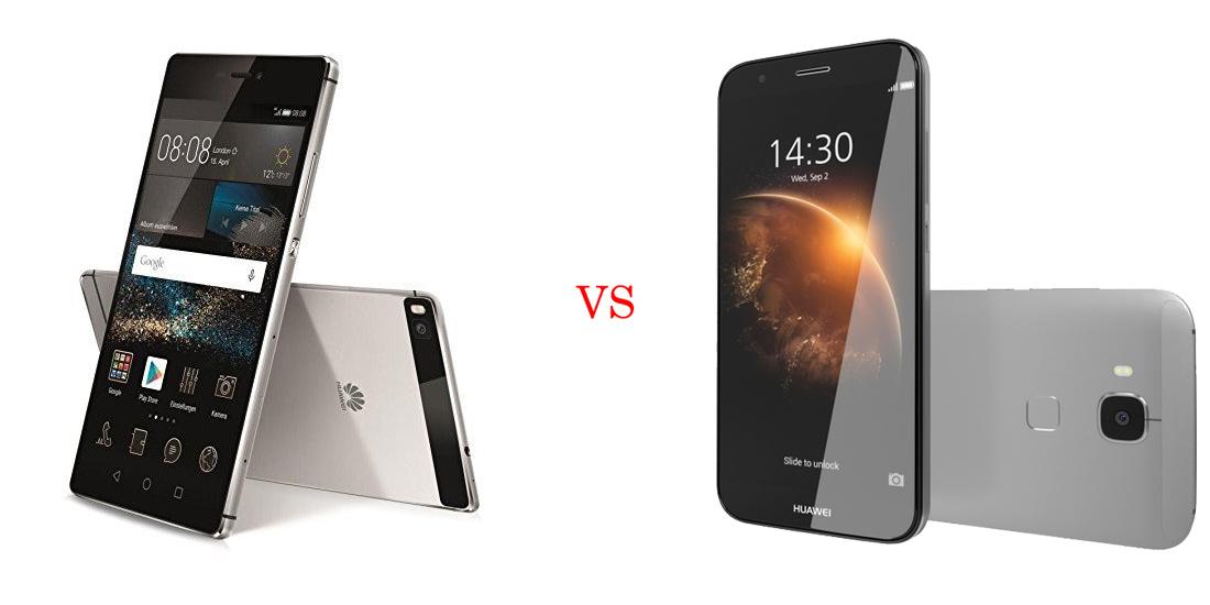 Huawei P8 versus Huawei GX8 5