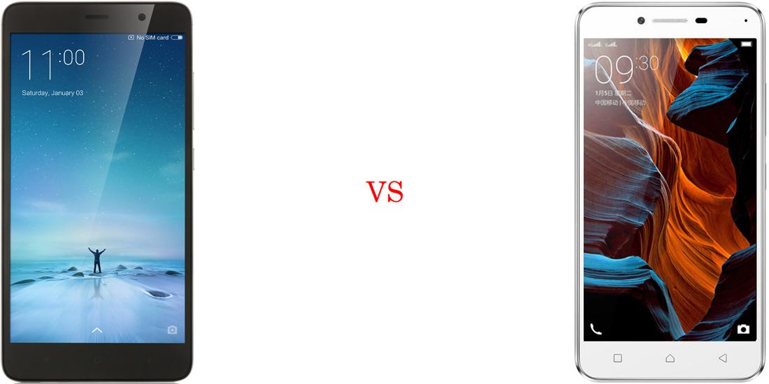 Xiaomi Redmi Note 3 versus Lenovo Vibe K5 Plus 2