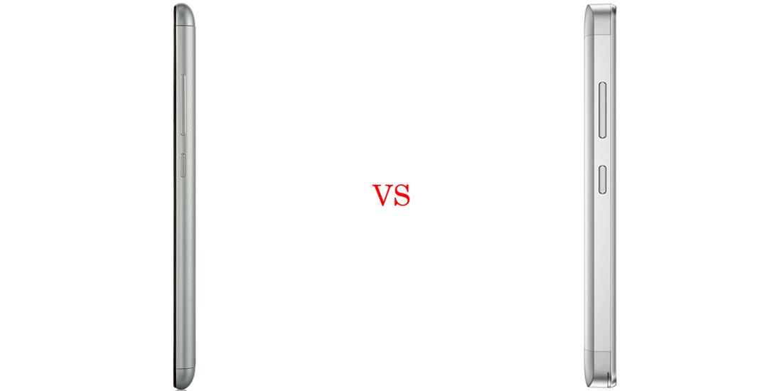 Xiaomi Redmi Note 3 versus Lenovo Vibe K5 Plus 4