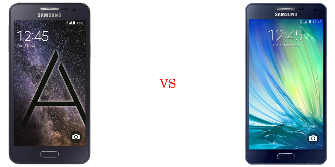 Samsung Galaxy A3 vs Samsung Galaxy A5 2