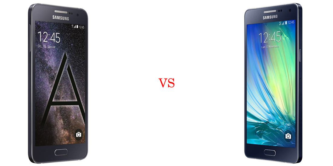 Samsung Galaxy A3 vs Samsung Galaxy A5 4