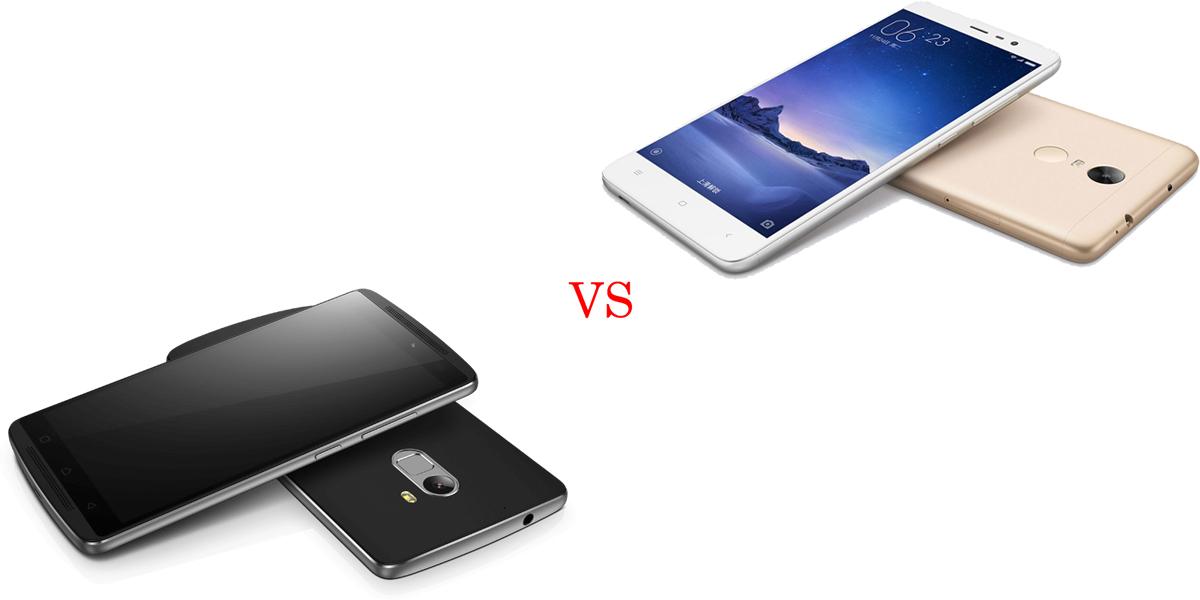 Lenovo K4 Note versus Xiaomi Redmi Note 3 2