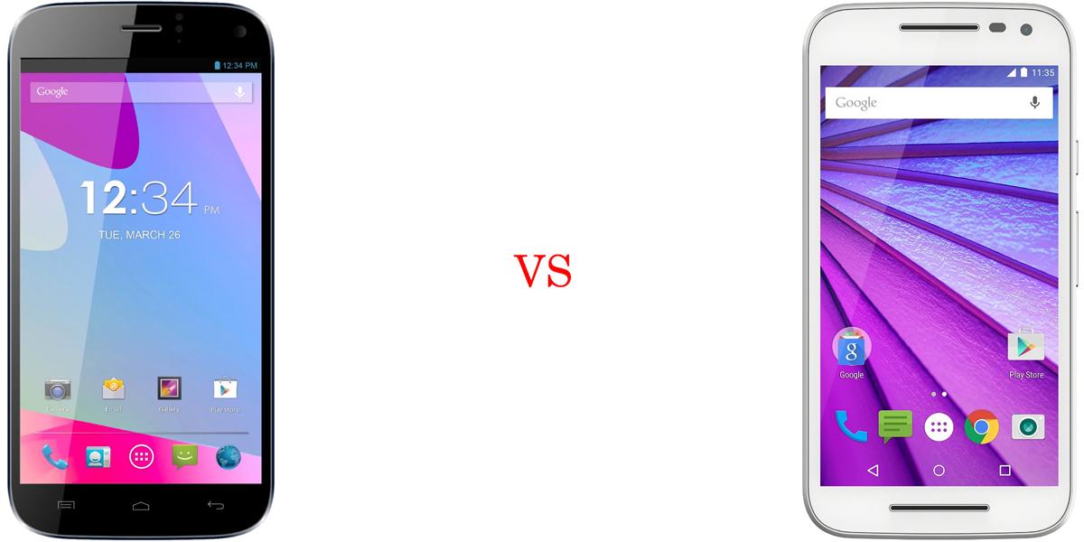 BLU Life One X versus Motorola Moto G (2015) 2