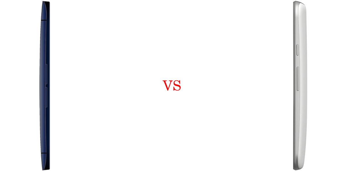 BLU Life One X versus Motorola Moto G (2015) 4