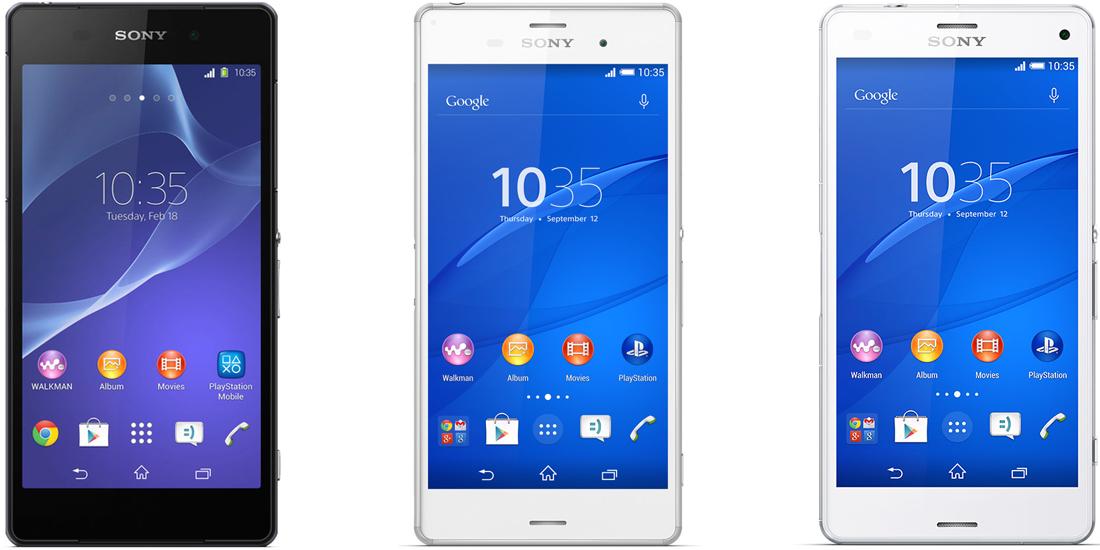 Android Marshmallow despliega Sony Xperia Z2 Z3 Z3 Compact 1