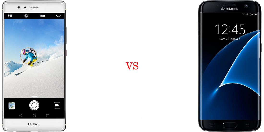 Huawei P9 Plus versus Samsung Galaxy S7 Edge 1