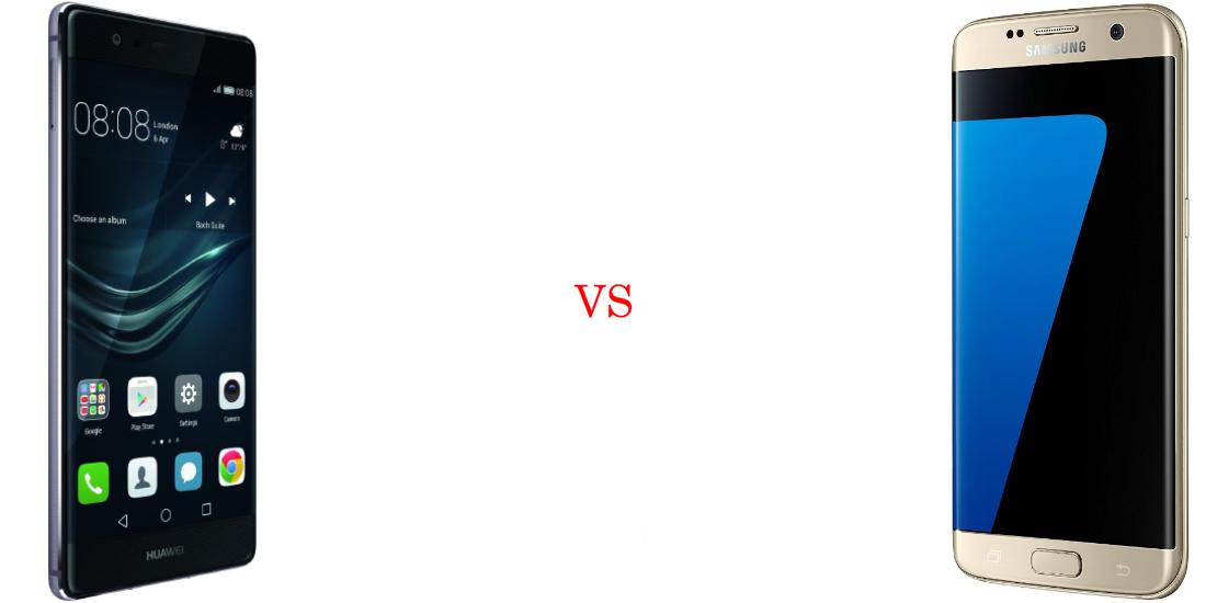 Huawei P9 Plus versus Samsung Galaxy S7 Edge 2