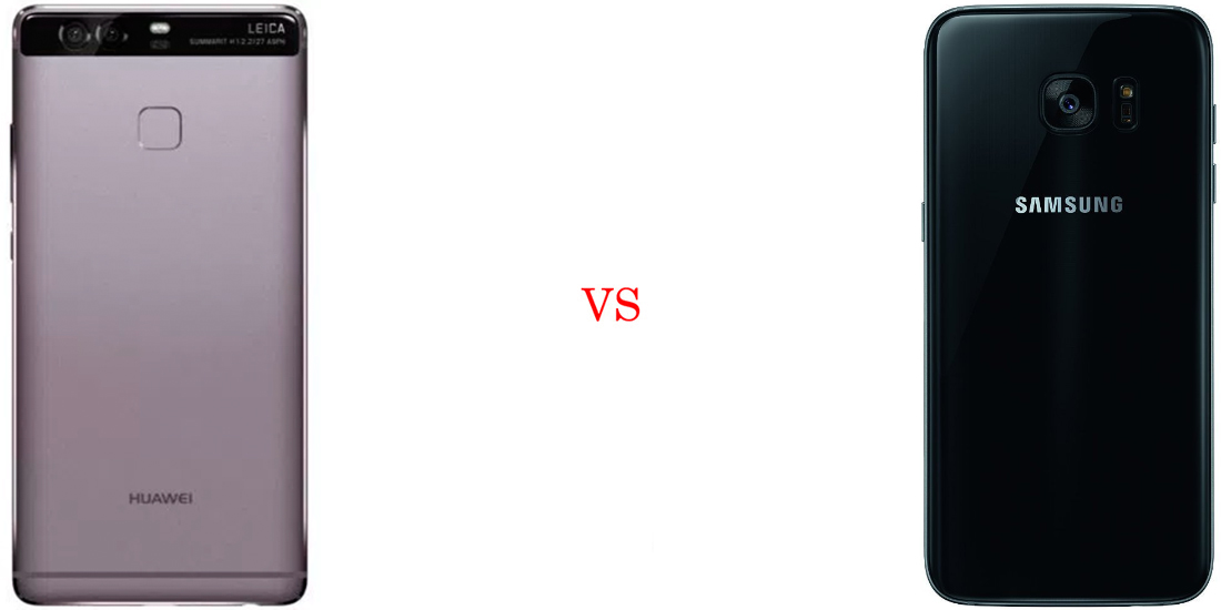 Huawei P9 Plus versus Samsung Galaxy S7 Edge 3