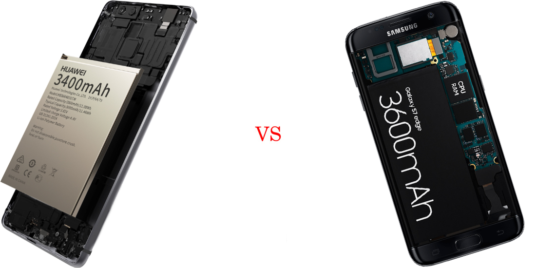 Huawei P9 Plus versus Samsung Galaxy S7 Edge 6