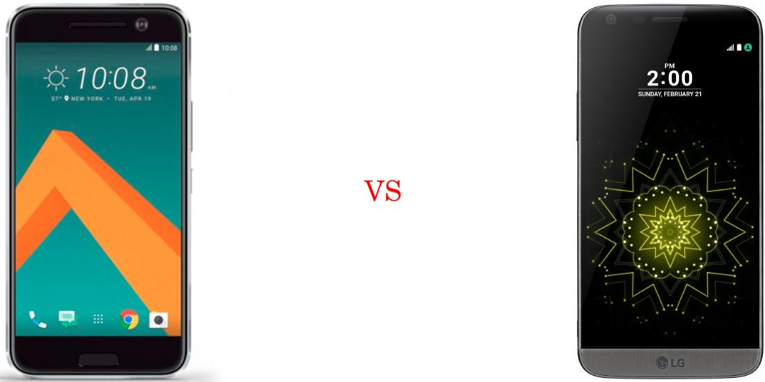 HTC 10 versus LG G5 2