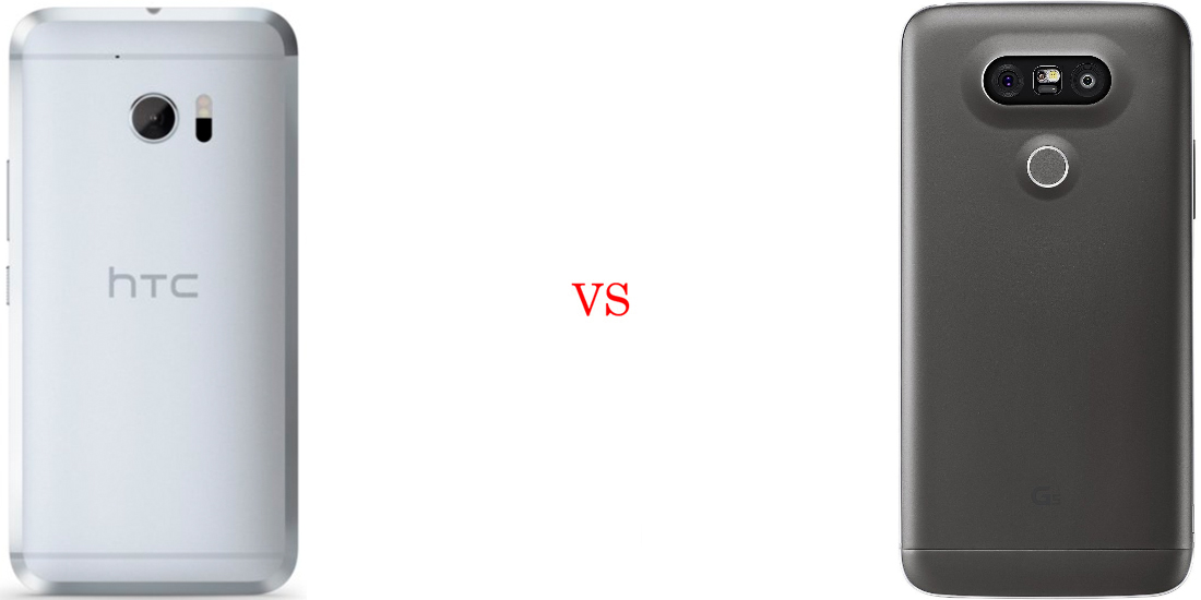 HTC 10 versus LG G5 3
