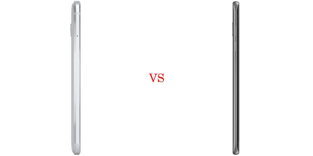 HTC 10 versus Samsung Galaxy S7 3