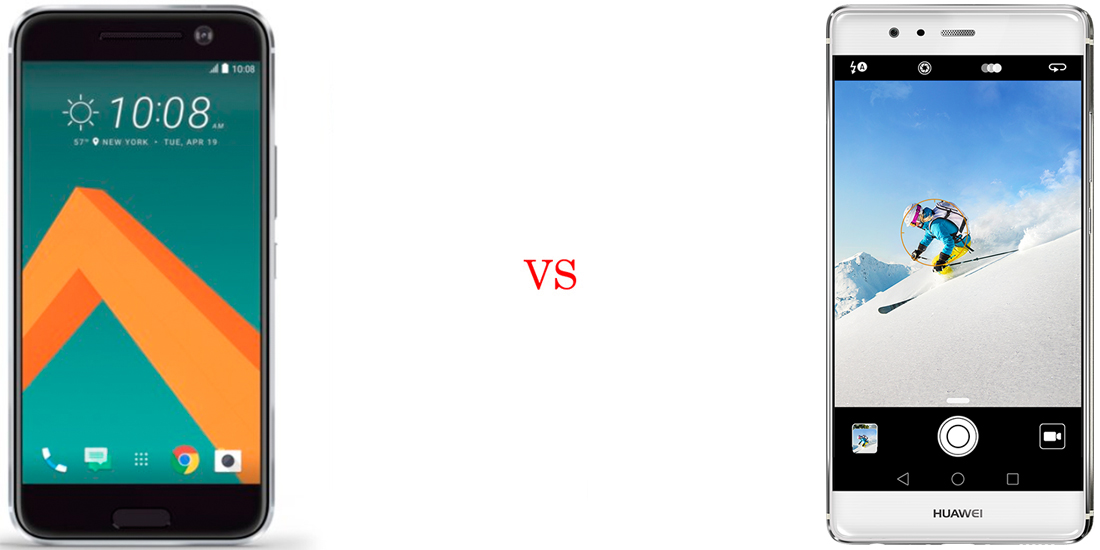 HTC 10 versus Huawei P9 2