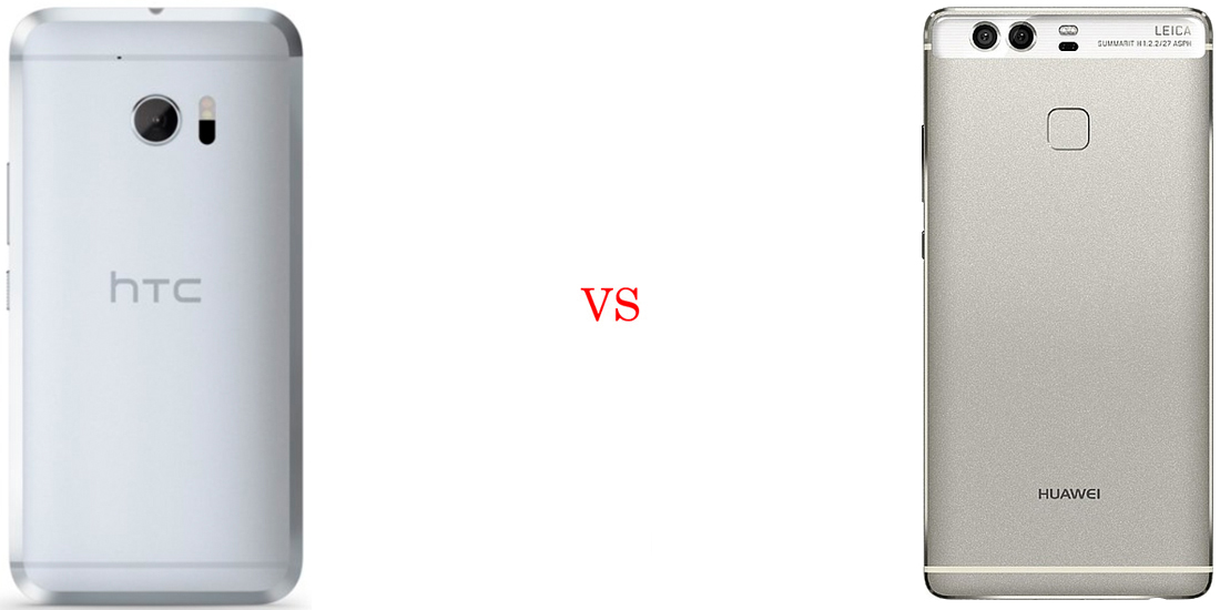 HTC 10 versus Huawei P9 3