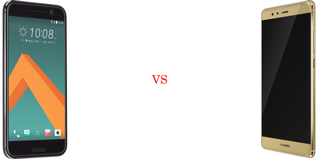 HTC 10 versus Huawei P9 5