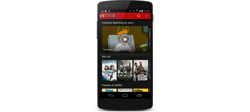 Netflix se actualiza para iOS y Android para mayor control del consumo de datos 1