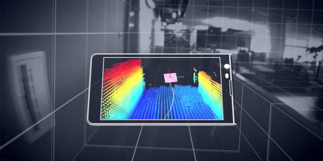 Lenovo y Google preparan el primer smartphone Project Tango 1