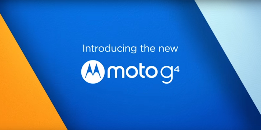 Moto G4 and G4 Plus are officially the new Android smartphones from Moto G series 1