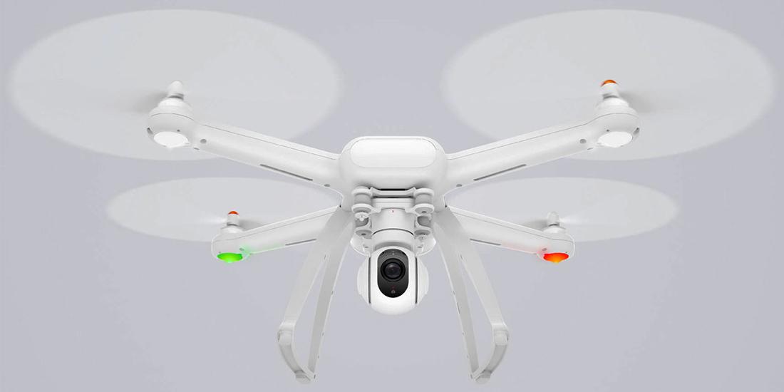 Mi Drone - Xiaomi presents a low cost 4K drone 1