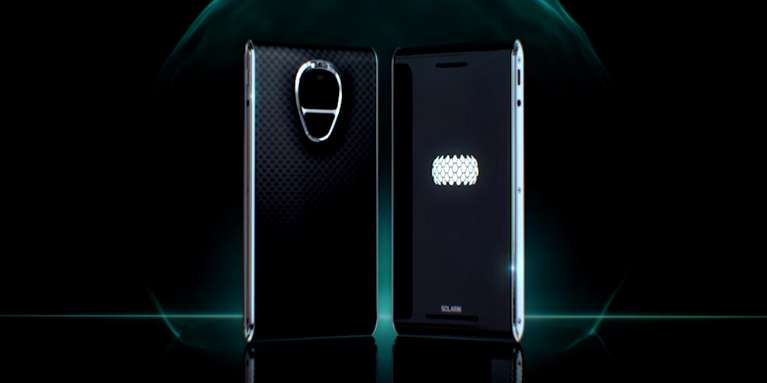 Solarin, the Android smartphone super secure and expensive 1