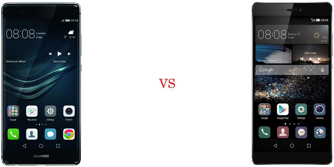 Huawei P9 versus Huawei P8 2