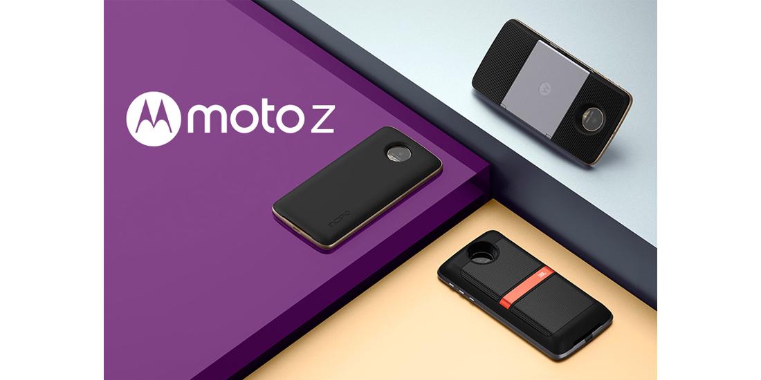 Lenovo apresenta o smartphone modular Moto Z 1