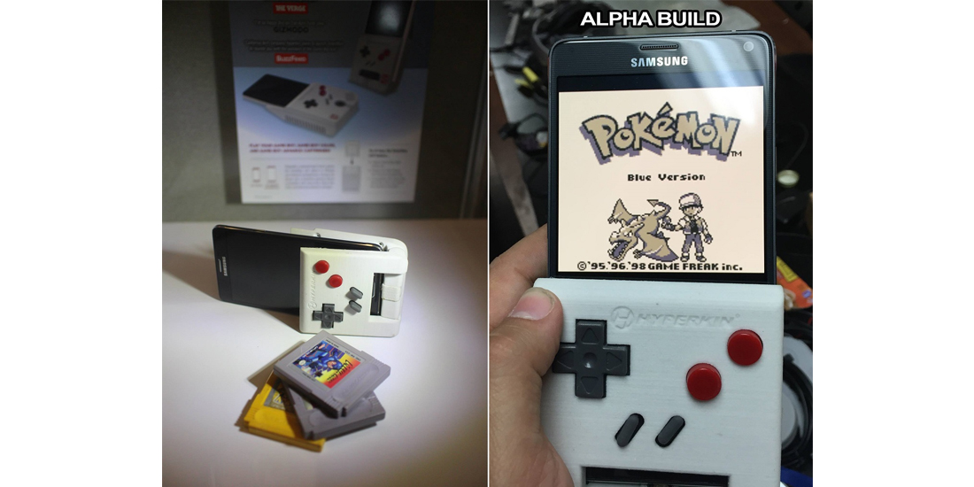 Hyperkin Brings The Game Boy To Smartphones - Hyperkin smartphone gameboy