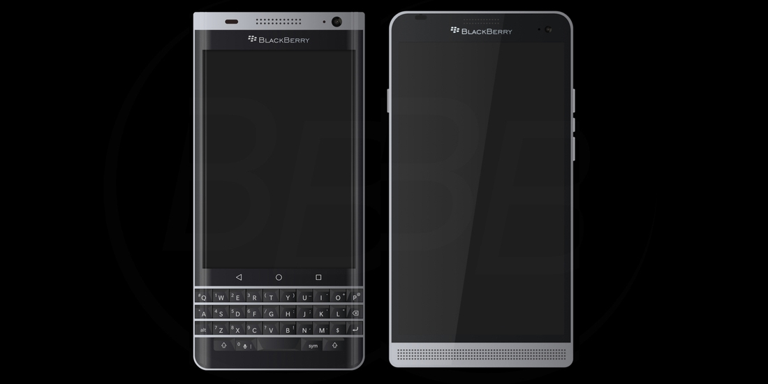 BlackBerry Rome mostrado em um render 1