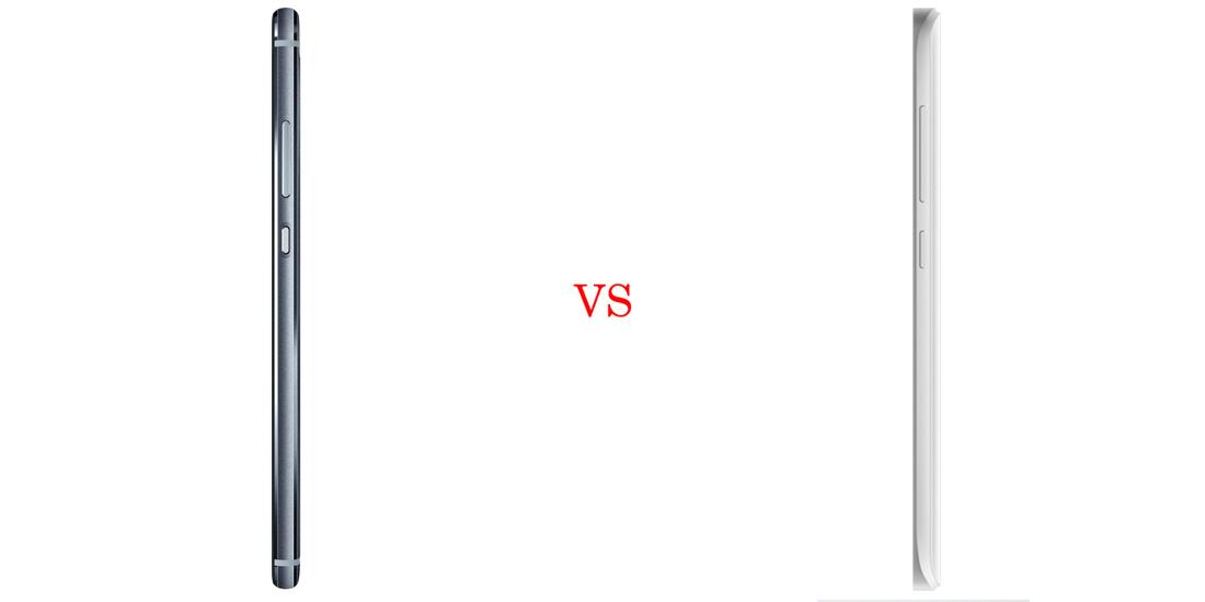 Huawei P9 versus Xiaomi Mi5 4