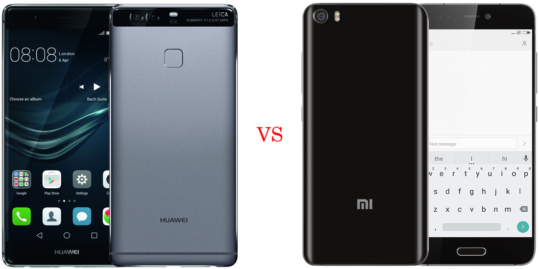 Huawei P9 versus Xiaomi Mi5 (comparativo) 1