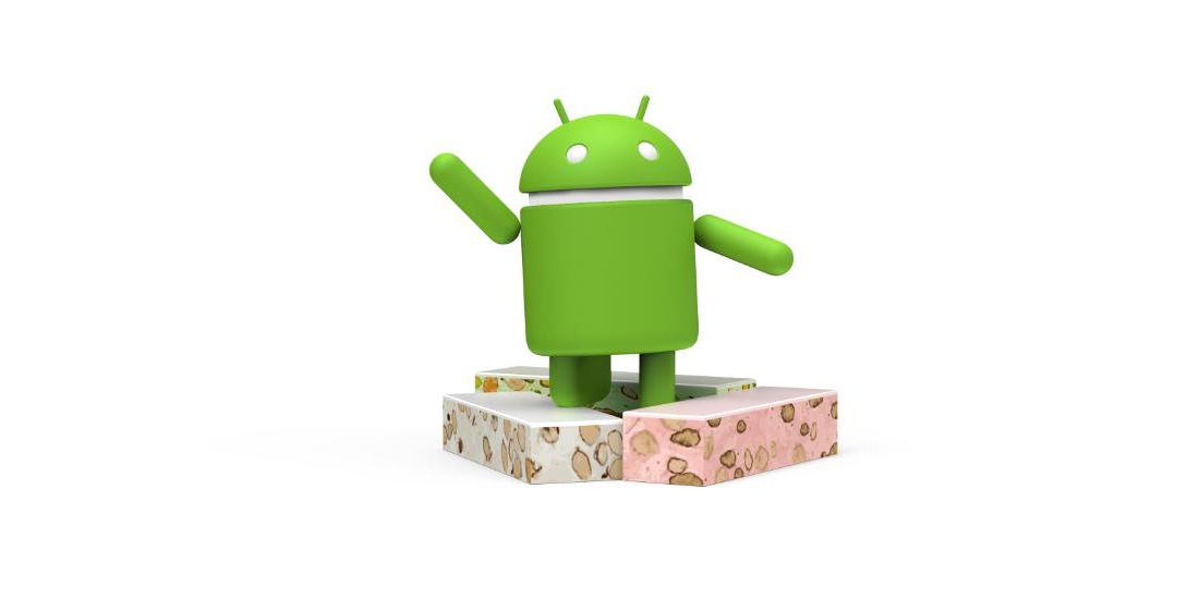 Android 7.0 Nougat oficial, o Google escolheu o torrone 1